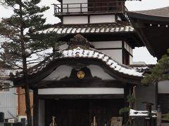 阿弥陀寺 新選組三番組長 藤田五郎墓所・鶴ヶ城本丸にあった御三階を訪れる。現存する唯一の城の遺構へ