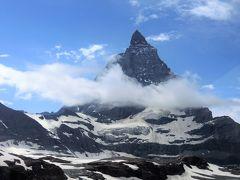 アルプス5大名峰と絶景列車の旅 16 ついにマッターホルンの全景が見えた