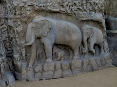 南&西インドの旅②-3 「アルジュナの苦行」&「クリシュナのバターボール」