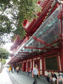 シンガポールで年越し散歩 (3) ~チャイナタウン&カウントダウン花火~