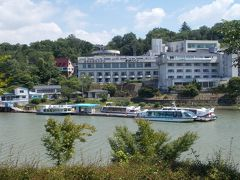 恵那峡国際ホテルと周辺散歩