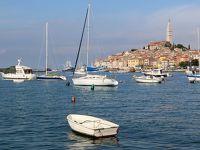 クロアチア・イストラ半島からイタリアへ(2)アドリア海沿岸の美しい港町《ロヴィニ Rovinj》