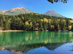【絶景】オンネトー湖 阿寒富士 雌阿寒岳 【日本百名山】 北海道 lake Onneto Japan Hokkado