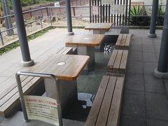 湯田温泉散歩と空港飯
