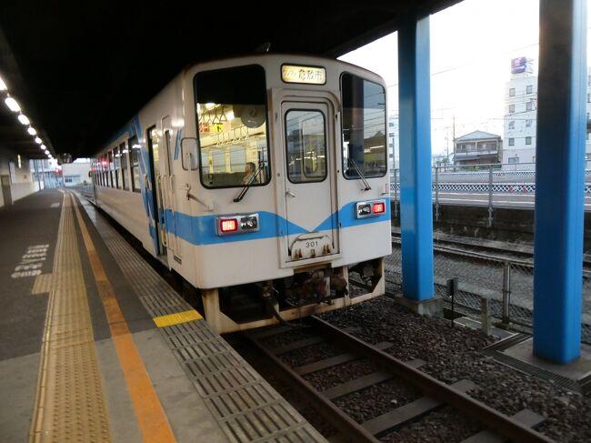 前回、https://4travel.jp/travelogue/11629455 からの続き。<br /><br />2019(R1)年(昨年)8月の旅です。 <br />岡山県は倉敷から、水島臨海鉄道に乗ることにしました。<br />今回は、落ち着いて、車内から沿線の様子を眺めております。