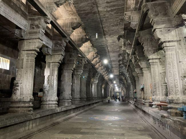 ヒンドゥーの聖地の一つ、カーンチープラムはチェンナイから車で1時間半ほど。あっちもこっちもお寺です。<br /><br />似たような造りで、後から絶対見分けつかないパターン…と思ってましたが、絶対迷わないダンジョン風のエーカンバラナータル寺院は白眉でした。弾丸南インドはコスメ三昧で締め括る流れへ。