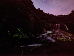 龍門の滝とホタル 2020