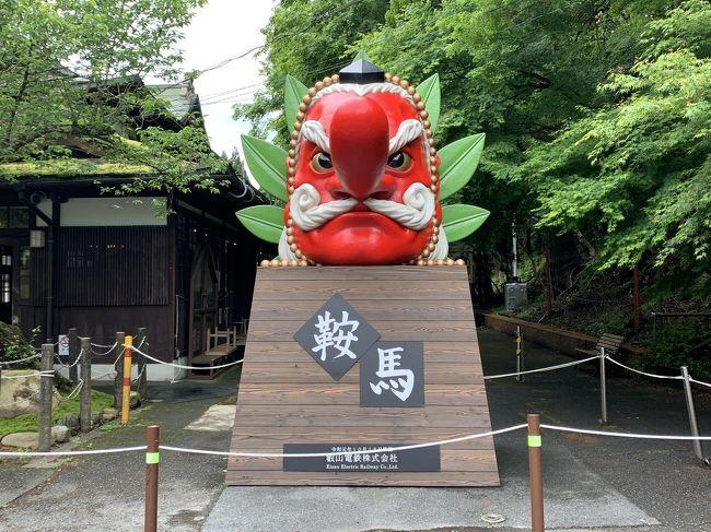 「京都最強のパワースポット」ともいわれる、鞍馬寺を通って貴船神社まで登ろうと思っていたのですが、鞍馬寺本殿金堂から先はコロナの影響で通行止めになっていて貴船神社には行けなかったです。鞍馬天狗と義経伝説で知られる鞍馬山は、山全体が聖なるパワースポットで、心なしか、鞍馬寺の仁王門をくぐった瞬間、空気が一変して凛とした雰囲気に包まれたような・・・