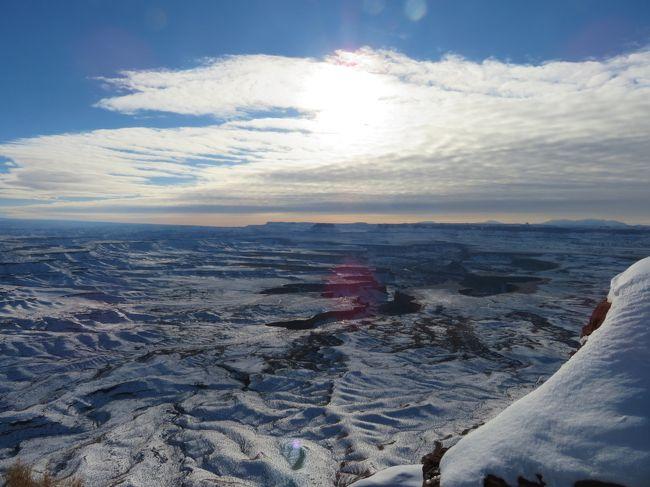 冬のグランドサークル子連れキャンピングカー旅行5~キャニオンランズ国立公園とスノーキャニオン州立公園