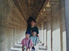 2000年1月子連れカンボジア旅(1)☆今も目を閉じて浮かぶのは、アンコールワットの優美なシルエット(*^-^*)