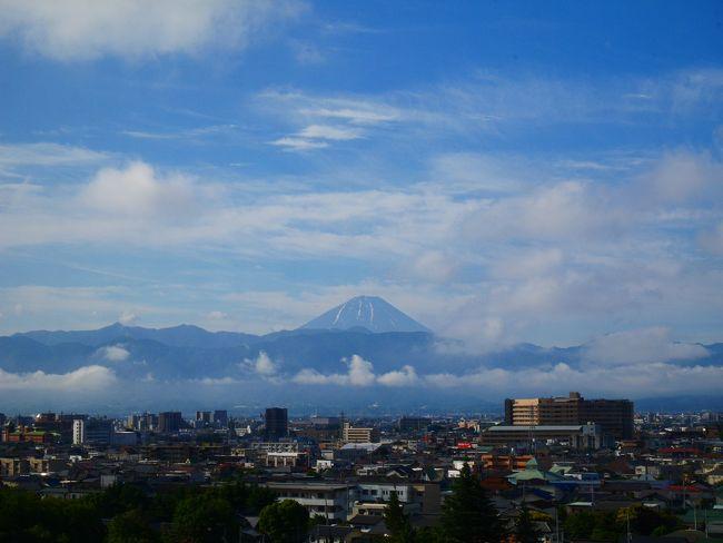 梅雨の中富士山を拝みに山梨・静岡へ① ~道の駅とB級グルメ巡り~