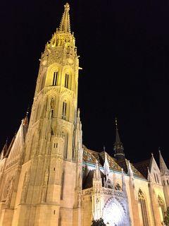 ブダペストは夕方からが本番!ブダ王宮の夜景を散策
