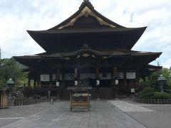 長野駅から善光寺まで歩いてみたら新しい発見した