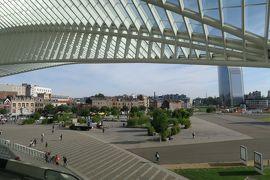 ヨーロッパ交易の中継地リェージュ1. 近未来的で光り輝く「リェージュ・ギーメン駅」