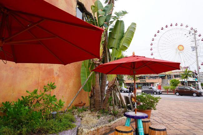 30年ぶりの沖縄。路線バスで中城から海中道路へ