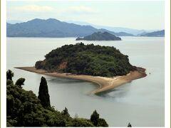 Solitary Journey[2031]潮が引いた時が見ごろ、島の形がハート型に見える小芝島<大芝島一周・大和の里野の花>広島県安芸津町