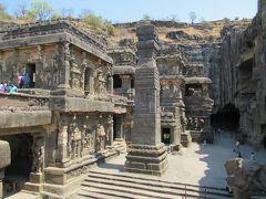 南&西インドの旅⑨⑩ 猛暑のインドもこれで大トリ:世界遺産「エローラ石窟寺院」