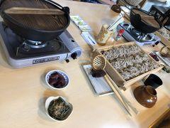 木曽福島で蕎麦打ち&五平餅作り体験