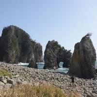 西伊豆のマニアックな景色を見物しながら堂ヶ島温泉に泊まる旅