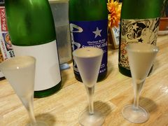 20200705-2 大阪 麺屋 爽月の夜の部は、たっぷり日本酒とお蕎麦と