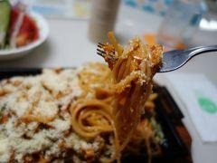 20200707-1 鳴門 チャイムのスパゲティーは、喫茶店のナポリタン…大盛り?
