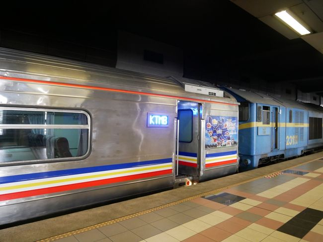 【2019年10月シンガポール5】 マレー鉄道でジョホールバル日帰り