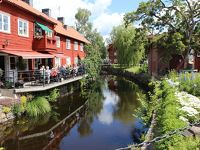 Eksjö、古い木造建築が残る街4