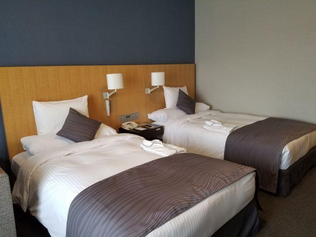 リーガロイヤルホテルのプレジデンシャルタワーが<br />リニューアルしたということで、泊ってきました。<br /><br />歩いていけるリゾートです。<br /><br />スタンダードルームしか空いていなかったので<br />スタンダードルームです。