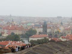 二度目のチェコ  雨のプラハ