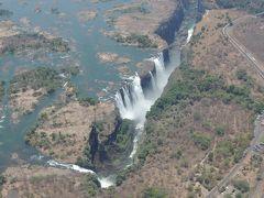 初めてのアフリカ大陸、南部3か国 11日間 5/5  ジンバブエ共和国 ビクトリアの滝