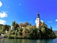 クロアチア&スロベニア ちょっとだけドイツ・オーストリアも イイトコ撮りの旅 (14) 「アルプスの瞳」ブレッド湖