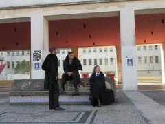 ポルトガルの地図をリスボンから上に移動しコインブラ観光。でも、荷物をどうしたものか( ^ω^)・・・