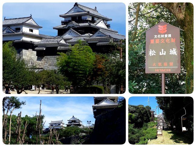 2020年第二弾 GO TO 4トラ日本地図 色塗り 兼 湯治旅【③愛媛県・松山城攻略編】
