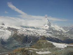 2003 7泊9日 イタリア・スイス旅行③ ツェルマットでハイキング~氷河急行~帰国まで