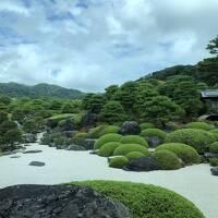 島根の最後は、足立美術館、松江市内は、お城と小泉八雲旧居へ。