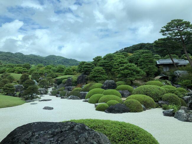 石見銀山を楽しんだ後、大田市から玉造温泉まで来て一泊。松江市内に泊っても良かったのだけど、せっかくなので、美肌の湯、と有名な温泉に泊まってみよう♪<br /><br />玉造温泉に一泊して最終日は、まず、足立美術館へ行き、それから、松江市内をブラブラ。午後半日、松江市内で時間を持て余すかな、足立美術館のある安来まで行くのだったら、さっと米子まで行ってこようかな、さらに、足を伸ばして、境港まで行ってみようかな・・なんて、思ったりもしたけど、やっぱり今回は、島根だけでいいか、としました。<br /><br />で、午後、松江市内をゆっくり散策。小泉八雲資料館、隣の旧宅、あらためて、小泉八雲のことを知れてとても良かった。妖怪ついでに、やはり、米子から、鬼太郎電車に乗って、境港へ行ってみたかったかな、と思ったけど、もう遅い。いつか、ANAにピュッと乗って米子へも行ってみよう。<br /><br />そうして、18:51発の、サンライズ出雲で、また東京へ帰ってきました。