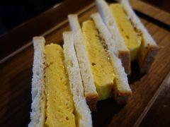 20200729-1 京都 雪ノ下本店で、厚焼玉子サンドのお昼
