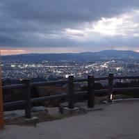2019年冬 京都と奈良のひとり旅 三日目【4】 西国三十三観音霊場巡り番外札所・法起院、與喜天満宮、若草山の夜景