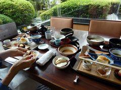 初夏のエクシブ山中湖2泊 朝のホテル散策 日本料理 花木鳥の朝食