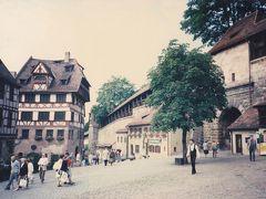 古い写真をスキャン1(西ドイツのニュルンベルク、1987年)