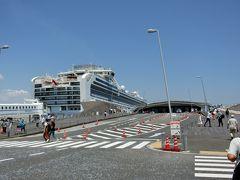 2019 ①ダイヤモンドプリンセスで行く日本周遊 夏祭り12日間 横浜 出港 終日航海