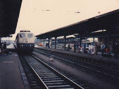 古い写真をスキャン3(西ドイツから東ドイツへ列車で移動、1987年)