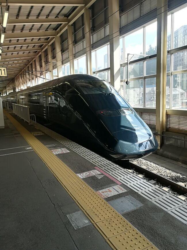 コロナ禍で今年の夏の家族旅行は新潟県内です。<br /><br />2泊目は越後湯沢の四季クワトロさんへ。帰りは現美新幹線に乗って帰って来ました。<br />子連れ旅行記です。