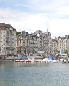 Switzerland Geneva * レマン湖~サン・ピエール大聖堂