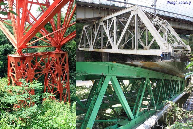 武漢肺炎第2波襲来により、また緊急事態宣言が出されてもおかしくない状況なので、その前に江戸時代に大きくルートを変えた大和川沿いの橋梁等を観てきました。<br /><br />【大和川付け替えの歴史概略】<br /> 奈良盆地の水の集まる大和川は、かつては柏原から北へ流れ、大きく迂回して大阪湾に注いでいましたが、上流から運ばれる土砂が堆積し天井川となっていて勾配も緩く、江戸時代には十数回に渡り堤防が決壊するなどして大水害を起こしていました。幕府は地元からの度重なる嘆願を受け、1703年(元禄16年)に大和川付替え(ルート変更)を正式に決定、翌年に付け替え工事を竣工させ、今の大和川のルートを流れるようになりました。