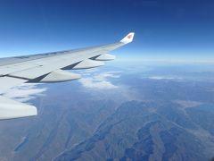 2018.11 タイ弾丸旅①搭乗記 中国国際航空 羽田~北京