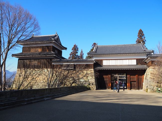 2020如月 長野県の日本百名城5城を一気に巡る ⑤最終日に上田城をさらっと見学し、休日出勤リターン