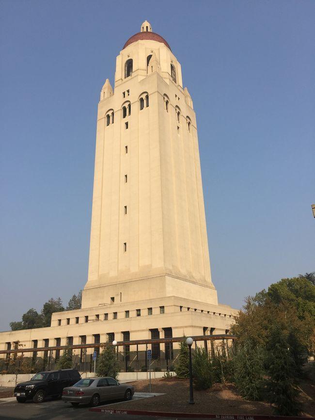 アメリカ西海岸の旅  @スタンフォード大学