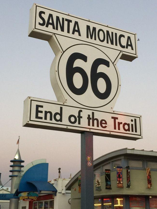 アメリカ西海岸の旅  @サンタモニカ