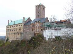 晩秋の北東ドイツを巡る旅 8.「バッハとヴァルトブルク城の街」アイゼナッハ